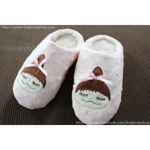รองเท้าใส่ในบ้าน สาวน้อยเกาหลี น่ารัก