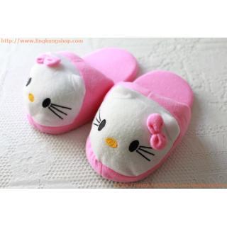 รองเท้าใส่ในบ้าน ลายการ์ตูน คิตตี้ Kitty (สำหรับเด็ก)