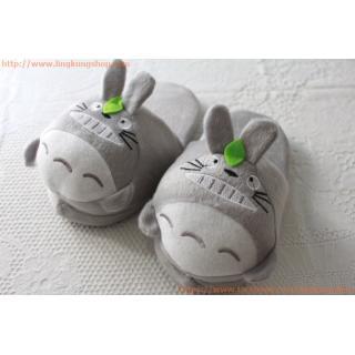 รองเท้าใส่ในบ้าน ลายการ์ตูน โทโทโร่ Totoro (สำหรับเด็ก)
