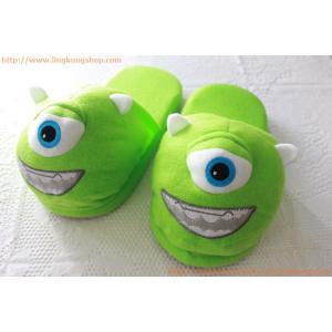 """รองเท้าใส่ในบ้าน ลายการ์ตูน """"ตัวเขียว ตาเดียว ไมค์"""""""