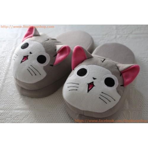 รองเท้าใส่ในบ้าน ลายน้องแมวจี้น่ารักๆ