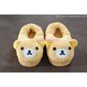 รองเท้าใส่ในบ้าน ลายน้องหมีน่ารัก นุ่มๆ