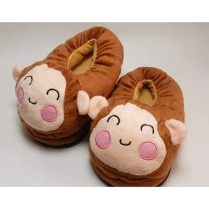 รองเท้าใส่ในบ้าน ลายลิงน้อย