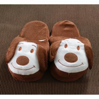 รองเท้าใส่ในบ้าน รองเท้าตุ้กตา ลายน้องหมาน่ารัก