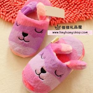 รองเท้าใส่ในบ้าน คราฟฮอลิค (CraftHolic) สีม่วงกระต่าย Rab