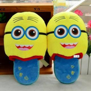 รองเท้าตุ้กตา ลายมินเนี่ยน Minions