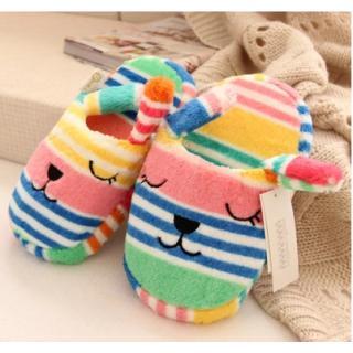 รองเท้าใส่ในบ้าน กระต่าย Reb ลายทาง คราฟฮอลิค (CraftHolic)