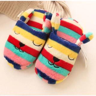 รองเท้าใส่ในบ้าน  ลายทางน่ารักกระต่าย Reb คราฟฮอลิค (CraftHolic)