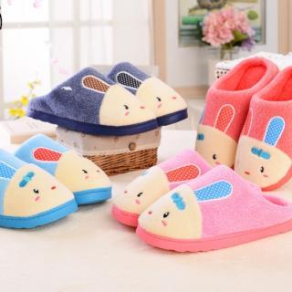 รองเท้าใส่ในบ้าน แกะกระต่ายน่ารัก พื้นยางขนปุย