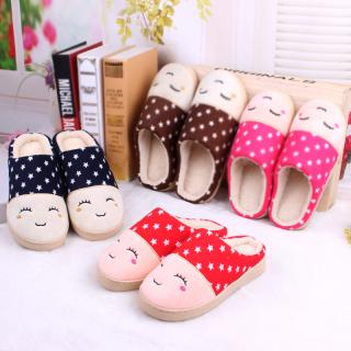 รองเท้าเกาหลี สไตล์เกาหลี พื้นยางหนานุ่ม งานคุณภาพ สีแดง น้ำตาล 27cm.(Slipper Shoes)