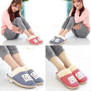 รองเท้าใส่ในบ้าน สไตล์ญี่ปุ่น ขนปปุยนุ่ม ใส่ทำงานใส่อยู่บ้าน สบายเท้าทุกการเดิน