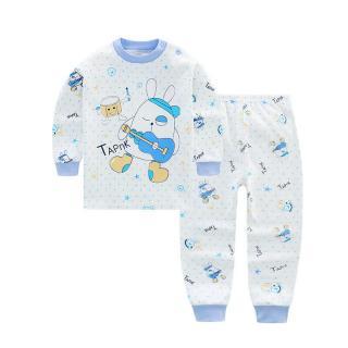 ชุดนอนเด็กน่ารัก ลายน้องหมีกับลิงจั๊กกระต่าย TAPNK ผ้า Cotton 100%