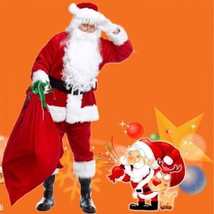 ชุดคริสมาสต์ ซานตาครอส ผู้ชาย ใส่ไปปาร์ตี้สุดปัง