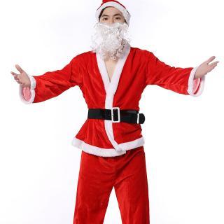 ชุดคริสมาสต์ ซานตาครอส ผู้ชาย ใส่ปาร์ตี้ น่ารักเวอร์ พร้อมส่ง