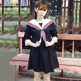 ชุดคอสเพลย์นักเรียน สไตล์ญี่ปุ่น สวยใสน่ารัก เรียบร้อย