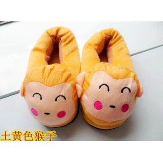 รองเท้าใส่ในบ้าน ลายการ์ตูน ลิงน้อย (ใหม่-2)