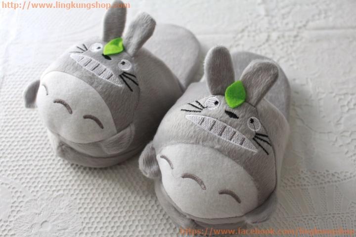 รองเท้าใส่ในบ้าน ลายการ์ตูน สำหรับเด็ก