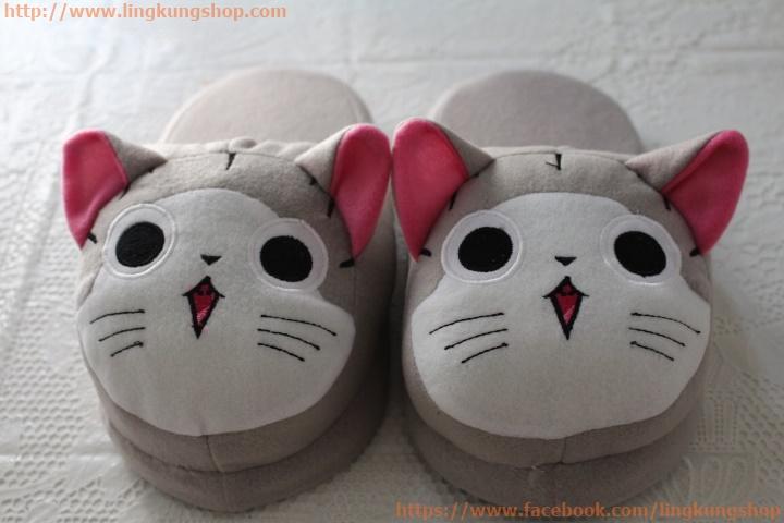 รองเท้าใส่ในบ้าน ลายการ์ตูน