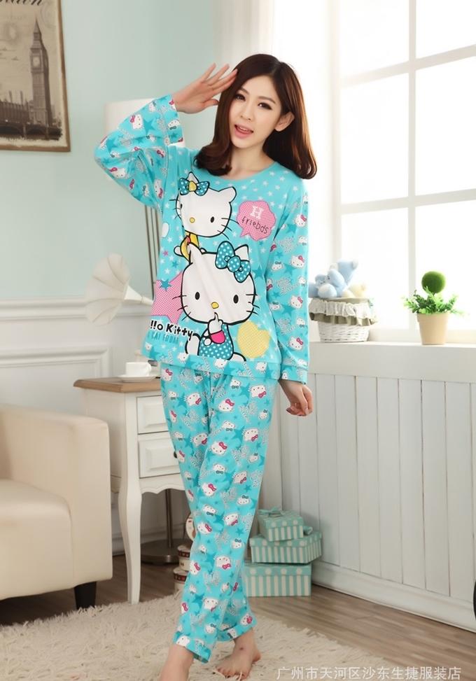 ชุดนอนน่ารัก Hello Kitty