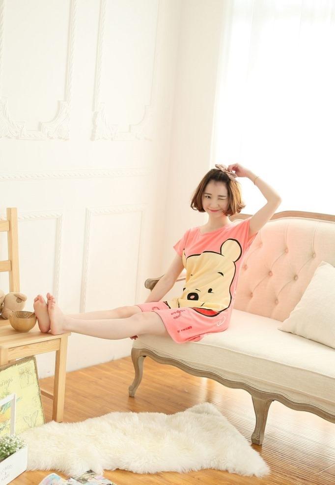 ชุดนอนน่ารัก หมีพลู Pooh