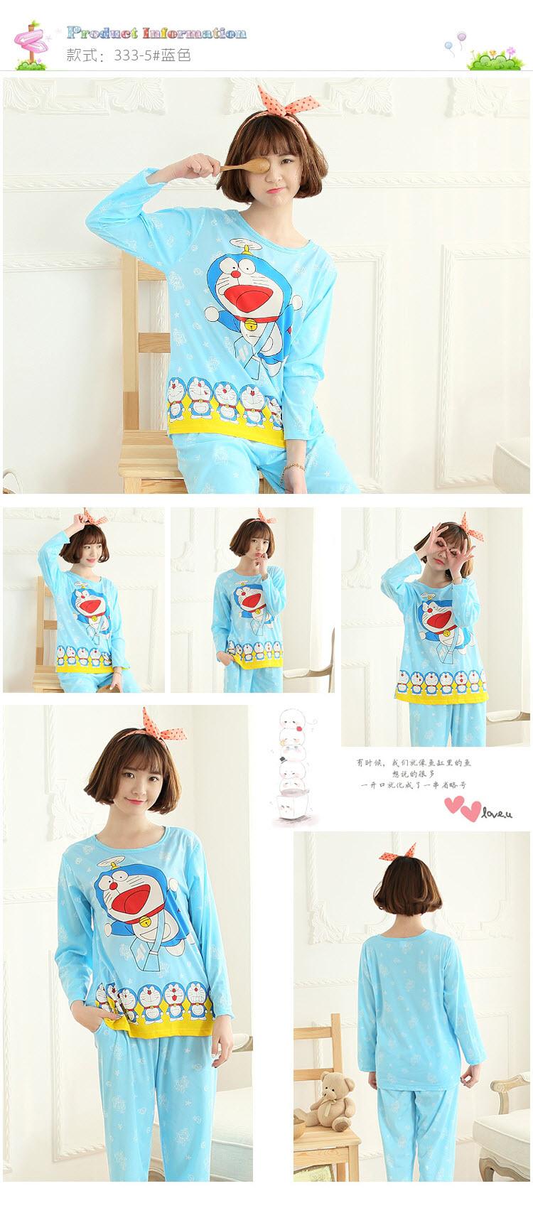 รูปชุดนอนโดราเอมอน น่ารักมากๆ