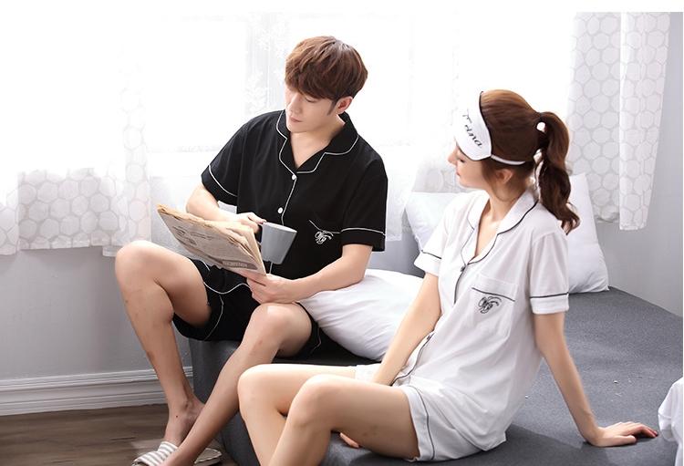 ชุดนอนคู่รัก สไตล์เกาหลี