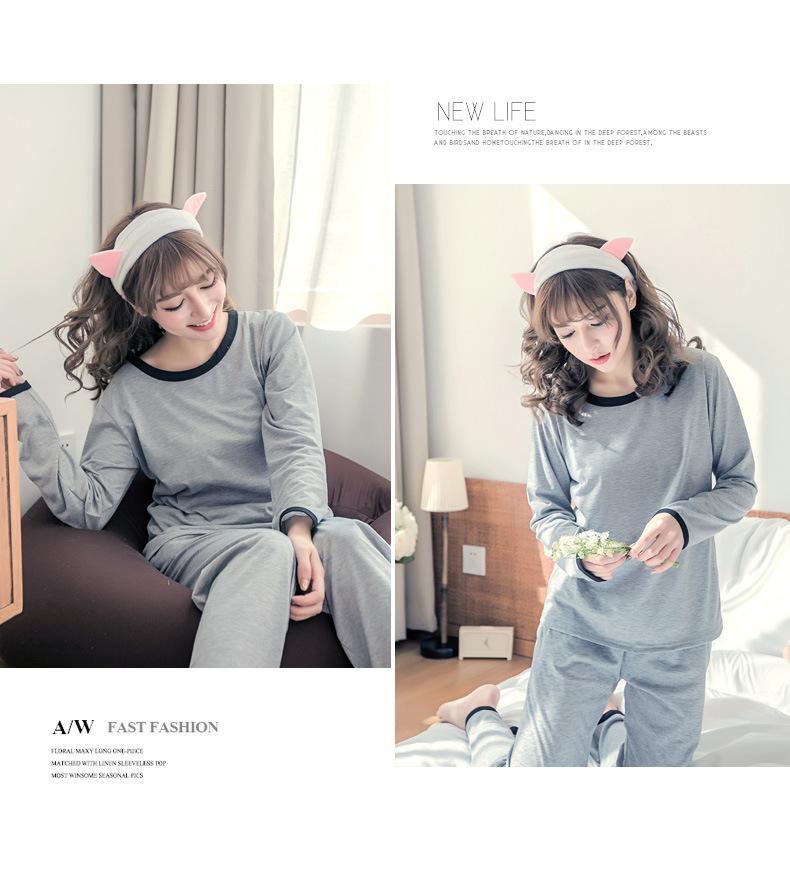 ชุดนอนน่ารัก ชุดนอนผุ้หญิง สไตล์เกาหลี