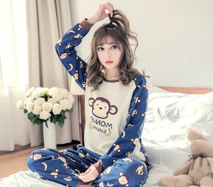 ชุดนอนสไตล์เกาหลี
