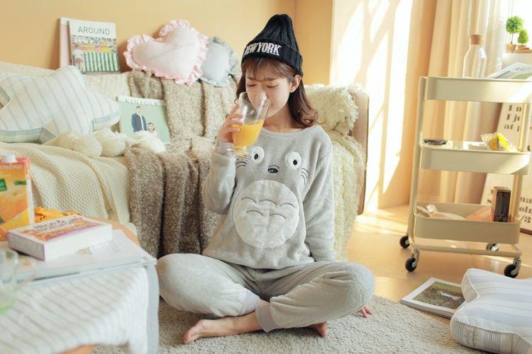 ชุดนอนผ้านาโน totoro