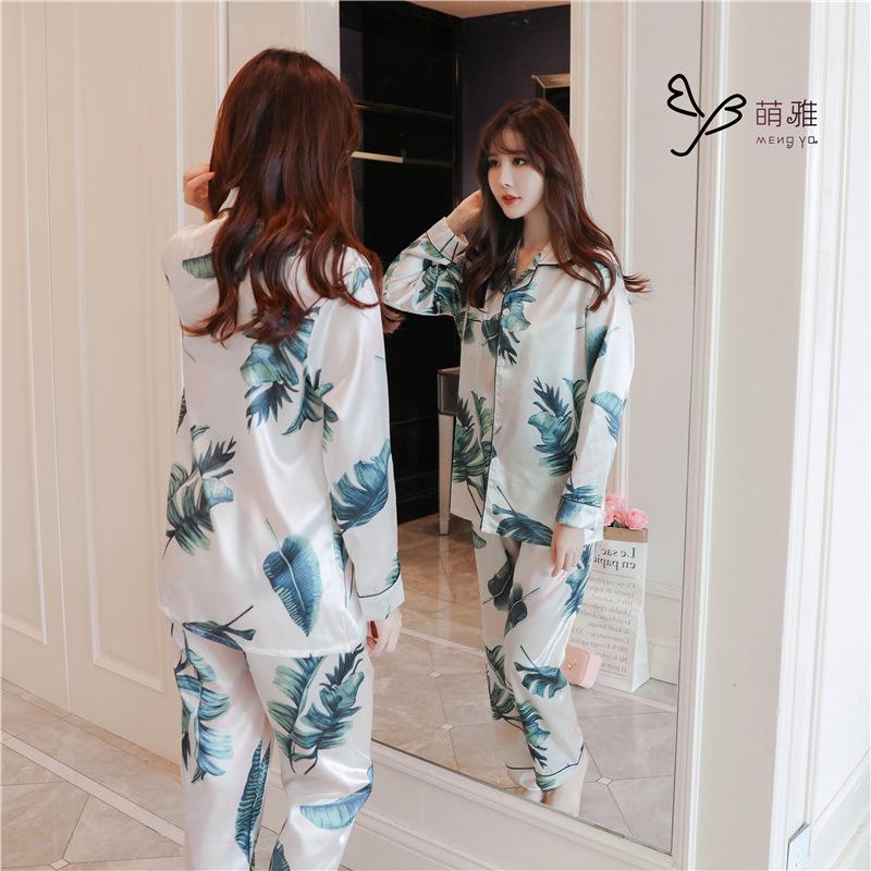 ชุดนอนเกาหลี ผ้าซาติน