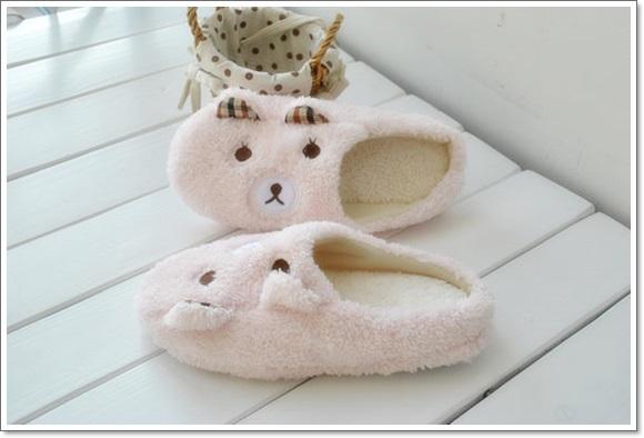 รองเท้าใส่ในบ้าน น้องหมี