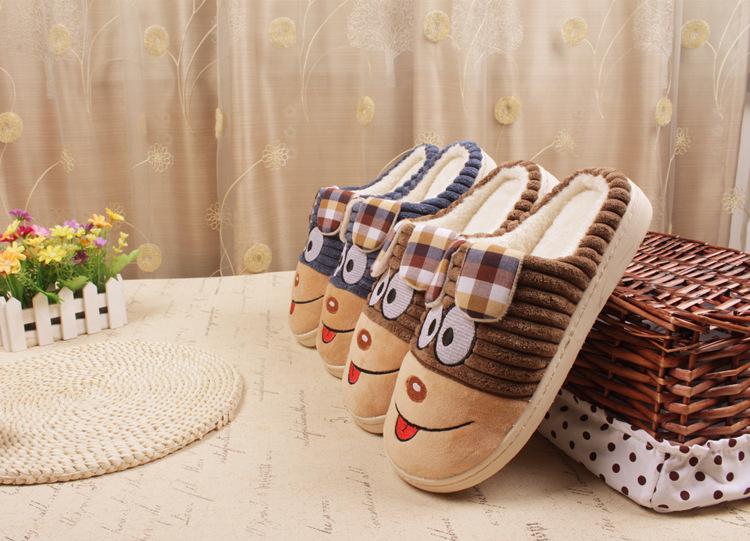 รองเท้าสลิปเปอร์ ลายน่ารักขนปุย