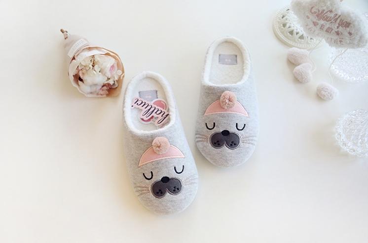 รองเท้าใส่ในบ้านแมวน้ำ