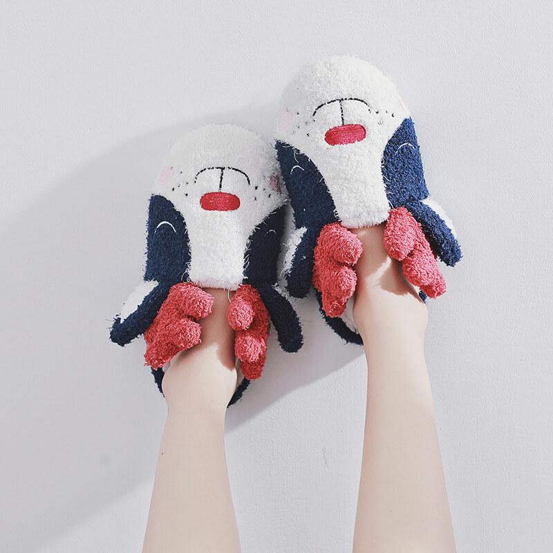 รองเท้าสลิปเปอร์น่ารัก
