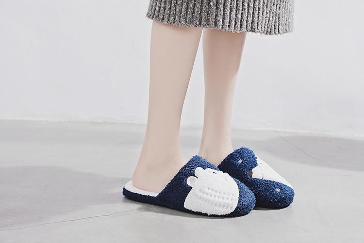 รองเท้าใส่ในบ้าน ลายหมี