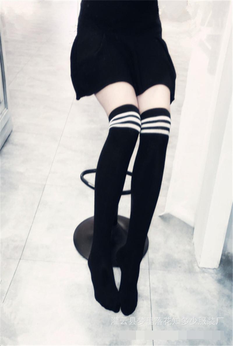 ถุงเท้านักเรียน สีดำ