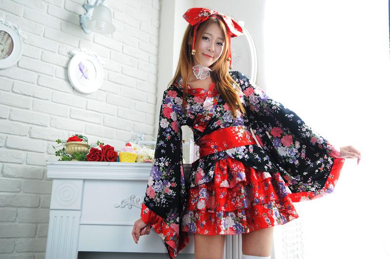 ชุดคอสเพลย์ กิโมโนญี่ปุ่น