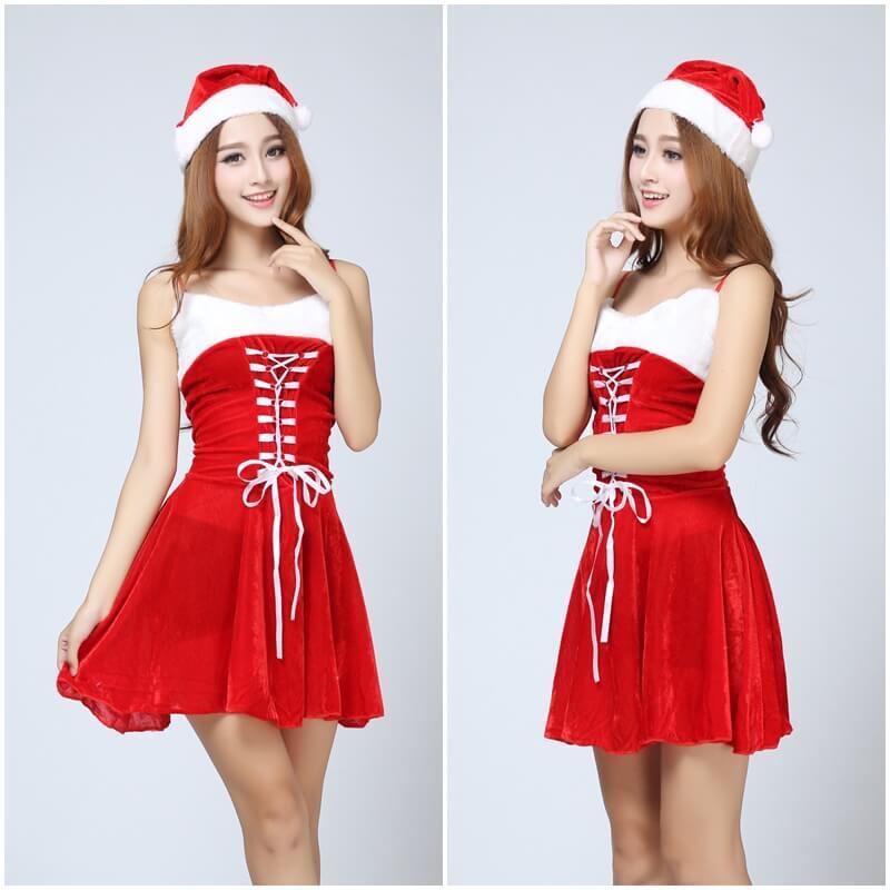 ชุดซานตาครอส ผู้หญิง