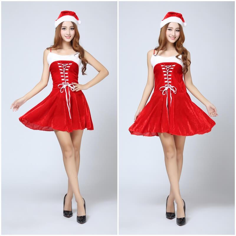 ชุดซานต้าหญิง