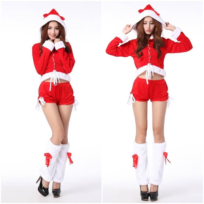 ชุดซานตี้ กางเกงขาสั้น
