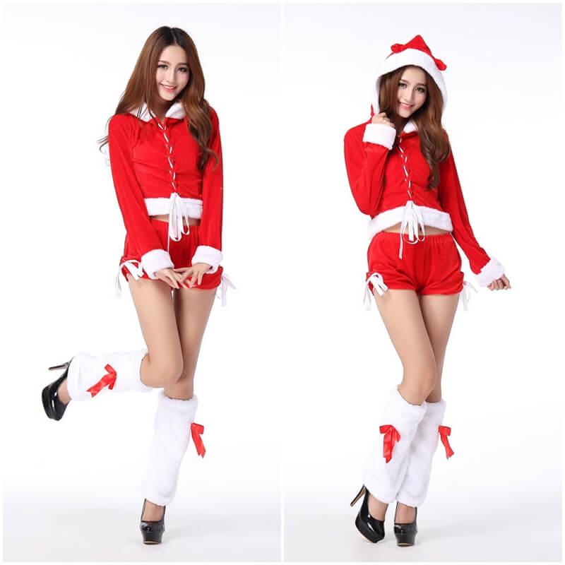 ชุดซานต้า ผู้หญิง