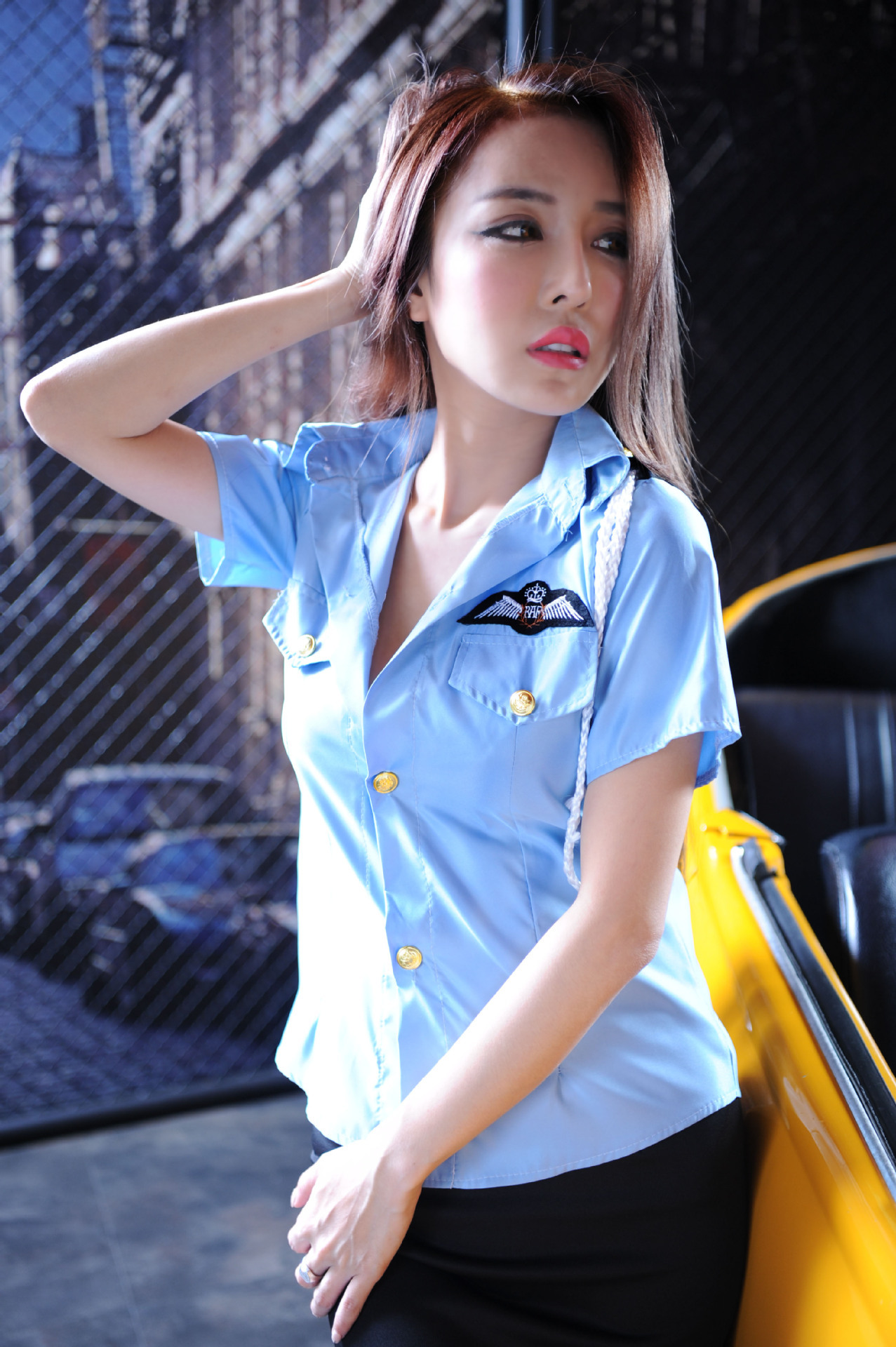 ชุดคอสเพลย์ ตำรวจหญิง