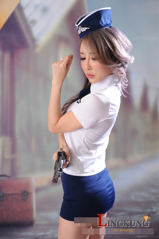 ชุด Cosplay ตำรวจหญิง