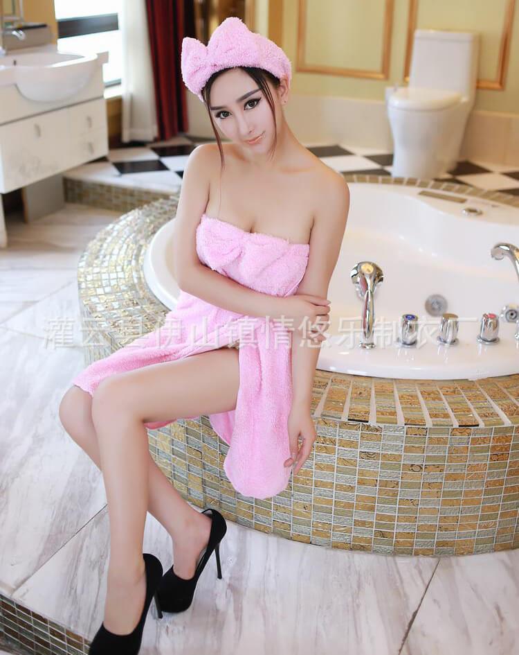 ชุดคลุมอาบน้ำ เซ็กซี่
